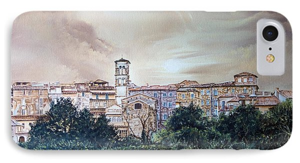 Rieti Panoramic Phone Case by Michel Angelo Rossi