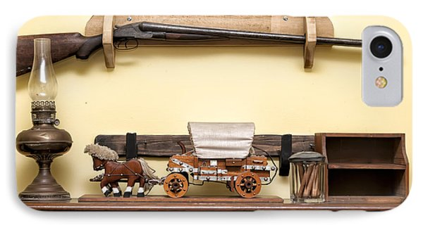 IPhone Case featuring the photograph Rifle by Linda Constant