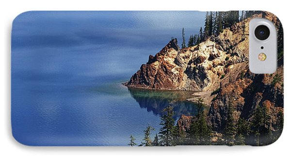 Right Side Of Crater Lake Oregon IPhone Case