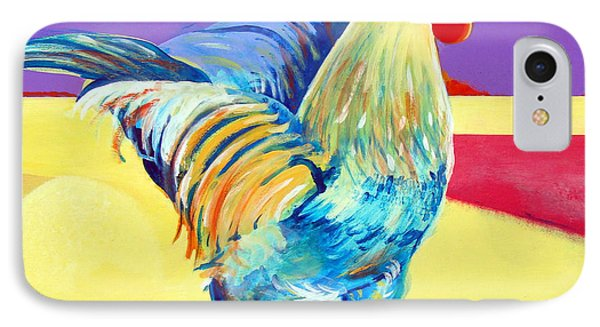Riley The Rooster IPhone Case by Christine Belt