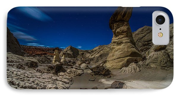 Rim Rock Toadstools Grand Staircase National Monument  IPhone Case