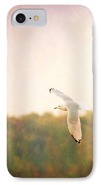 IPhone Case featuring the photograph Ring Billed Gulled by Heidi Hermes