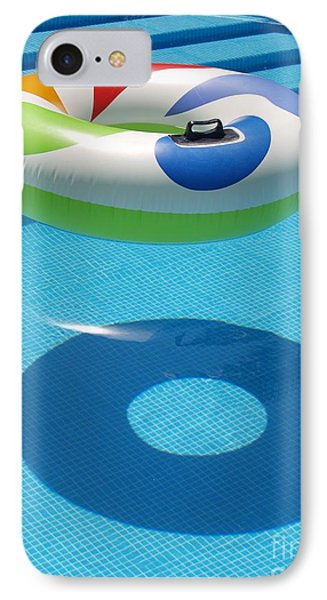 IPhone Case featuring the photograph Ring In A Swimming Pool by Michael Canning
