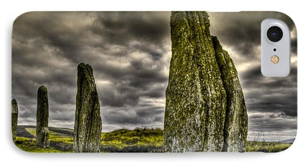 IPhone Case featuring the photograph Ring Of Brodgar Orkney by Gabor Pozsgai