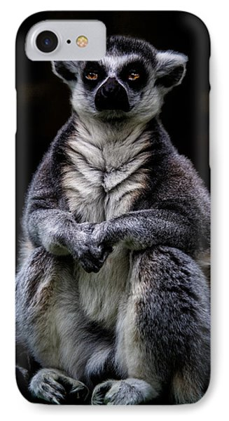IPhone Case featuring the photograph Ring Tailed Lemur by Chris Lord