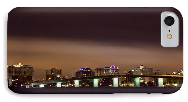 Ringling Bridge And Sarasota IPhone Case