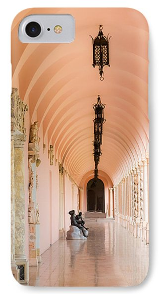 Ringling Museum Of Art IPhone Case by Karen Wiles