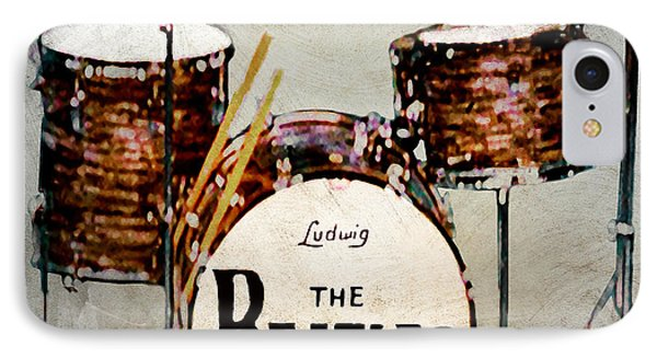 Ringo's Drums IPhone Case by Bill Cannon
