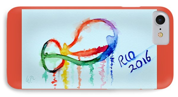 Rio 2016 IPhone Case by Warren Thompson