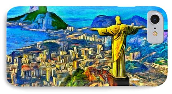 Rio De Janeiro - Da IPhone Case by Leonardo Digenio