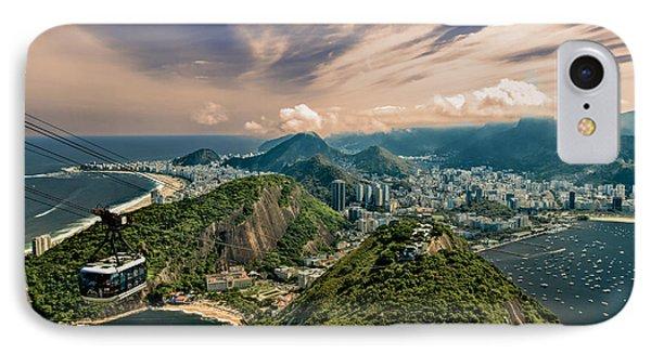 IPhone Case featuring the photograph Rio De Janeiro Overlook by Kim Wilson