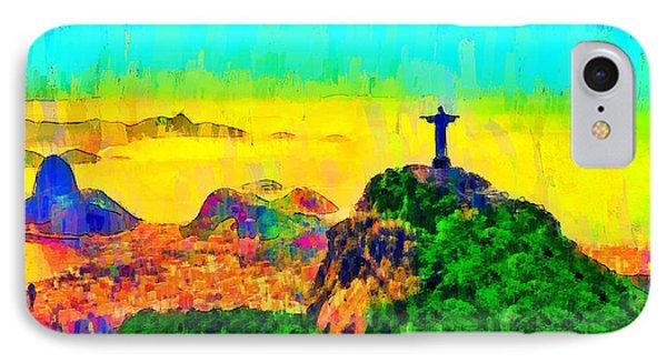 Rio De Janeiro Panoramic 3 - Pa IPhone Case by Leonardo Digenio