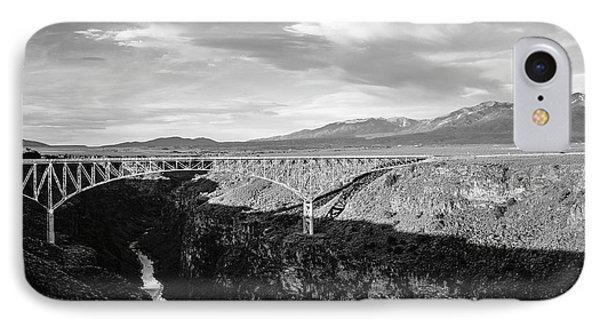 IPhone Case featuring the photograph Rio Grande Gorge Birdge by Marilyn Hunt