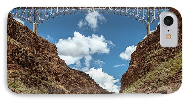 IPhone Case featuring the photograph Rio Grande Gorge Bridge by Britt Runyon
