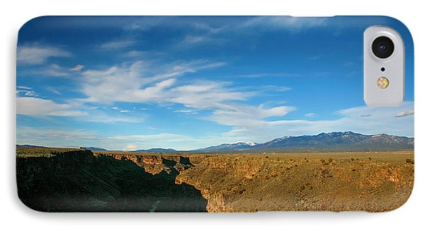 IPhone Case featuring the photograph Rio Grande Gorge Nm by Marilyn Hunt