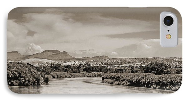 Rio Grande In Sepia IPhone Case