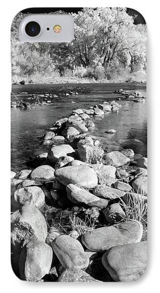 IPhone Case featuring the photograph Rio Grande-infrared by Britt Runyon