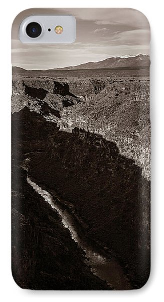 IPhone Case featuring the photograph Rio Grande River Taos by Marilyn Hunt
