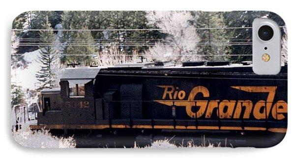 Rio Grande Train In Colorado IPhone Case