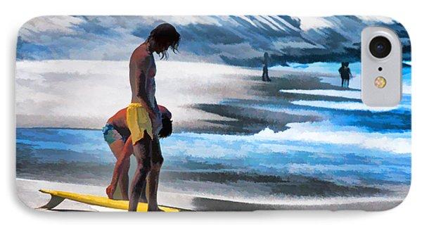 Rio Surfers Phone Case by Dennis Cox