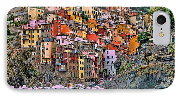 IPhone Case featuring the photograph Riomaggiore by Allen Beatty