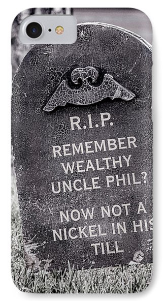 Rip Uncle Phil IPhone Case