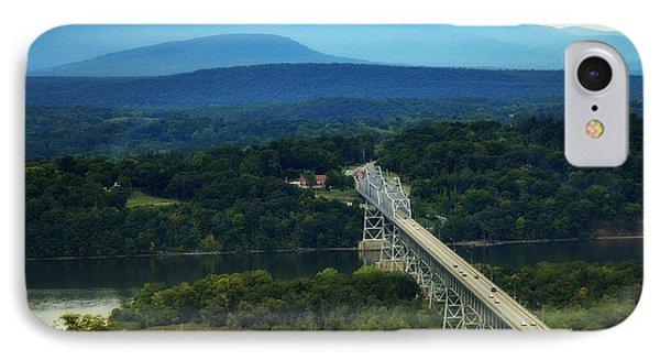 Rip Van Winkle Bridge IPhone Case by Bruce Carpenter