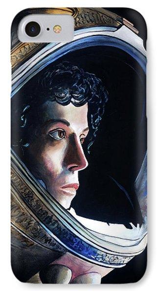 Ripley IPhone Case by Tom Carlton
