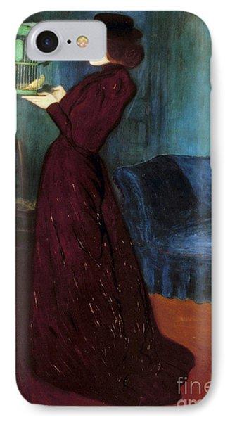 Ripple-ronai: Woman, 1892 Phone Case by Granger