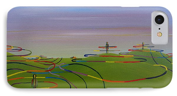 Ripples Of Life 1.2 IPhone Case by Tim Mullaney