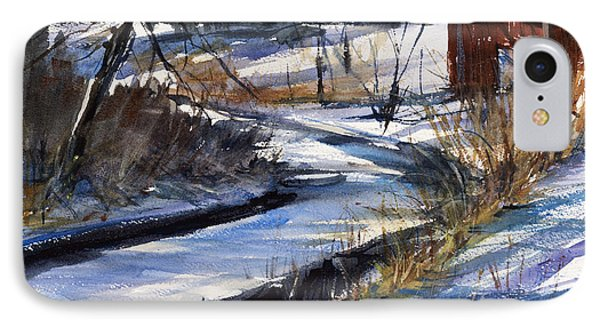 Rippleton Road River IPhone Case by Judith Levins