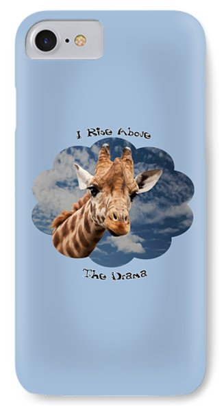 Rise Above IPhone Case by Judi Saunders
