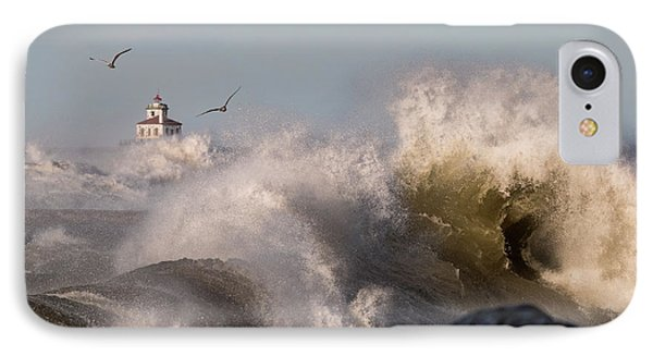 Rise Above The Turbulence IPhone Case by Everet Regal