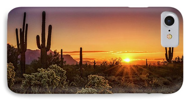 IPhone Case featuring the photograph Rise And Shine Arizona  by Saija Lehtonen