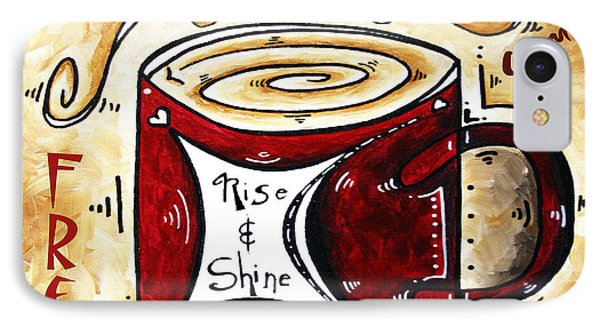 Rise And Shine Original Painting Madart Phone Case by Megan Duncanson