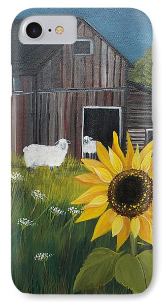 Rise And Shine IPhone Case by Virginia Coyle