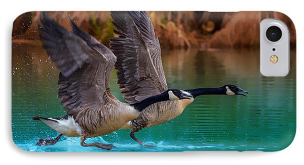 Rise Of Flight IPhone Case by Brian Stevens