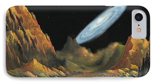 Rise Of The Galaxy-1 IPhone Case by Suresh Chakravarthy
