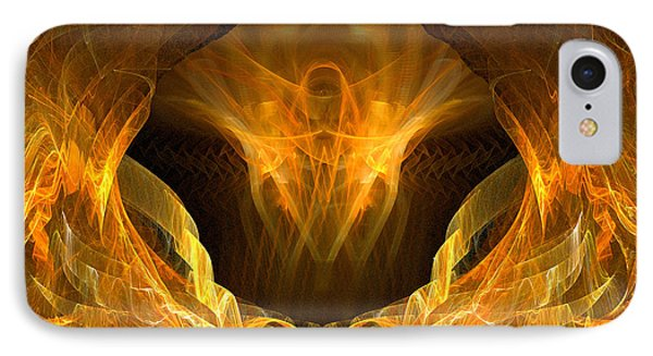 IPhone Case featuring the digital art Risen by R Thomas Brass