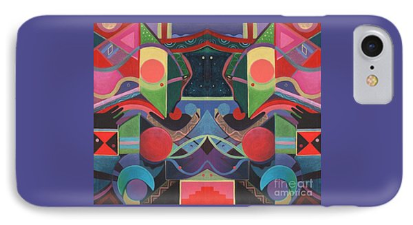 Rising Above And Synergy 3 IPhone Case by Helena Tiainen