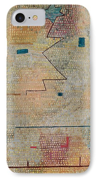 Rising Star  IPhone Case by Paul Klee