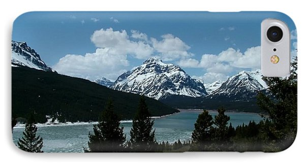 Rising Wolf And Two Medicine Lake IPhone Case