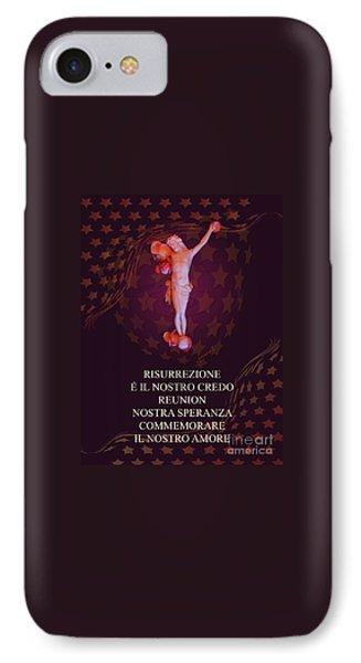 Inri M1 Risurrezione  / Resurrection IPhone Case