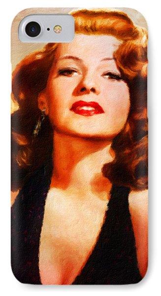 Rita Hayworth By Js IPhone Case