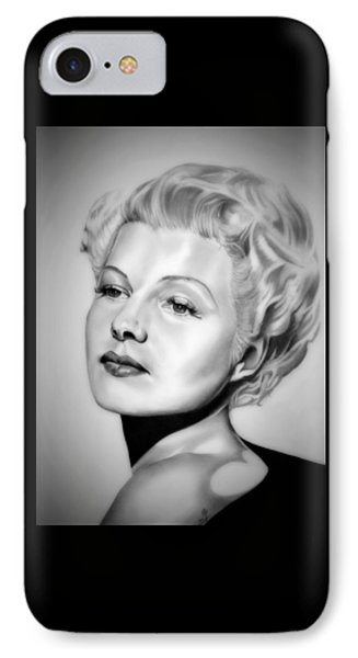 Rita Hayworth IPhone Case by Fred Larucci