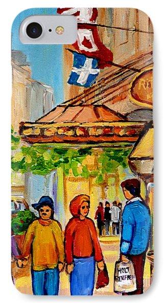 Ritz Carlton Montreal Sherbrooke Street IPhone Case by Carole Spandau