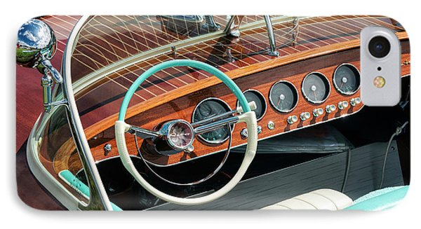 Riva Super Ariston Dash IPhone Case by Tim Gainey
