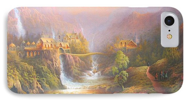 Rivendell IPhone Case by Joe Gilronan