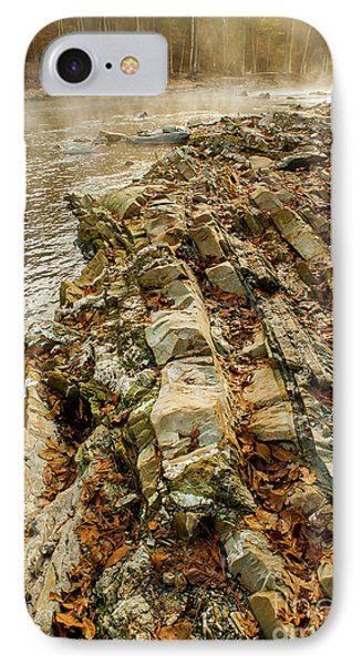 IPhone Case featuring the photograph River Bank by Iris Greenwell
