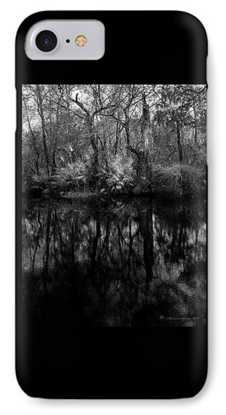 River Bank Palmetto IPhone Case by Marvin Spates